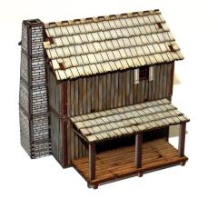 New France Loft Cabin (Pre-Painted)