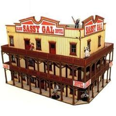Sassy Gal Saloon, The (Pre-Painted)
