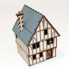 Timber Framed Shop/Dwelling (Pre-Painted)