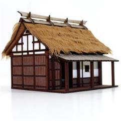 Peasant Smallholder's Cottage (Pre-Painted)