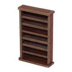 Large Book Shelf - Medium Wood
