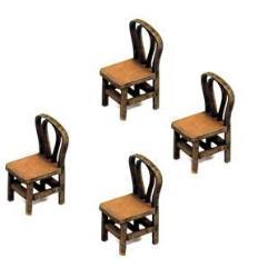 Bentwood Back Chair - Light Wood