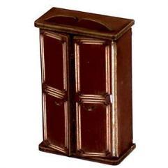 Wardrobe A - Medium Wood