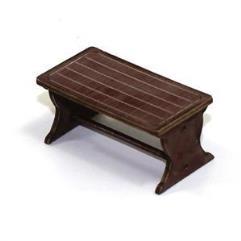 Farm House Table - Medium Wood