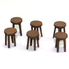 Bar Stool - Light Wood