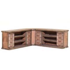 Corner Counters - Light Wood