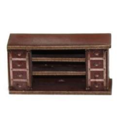 Straight Counter - Medium Wood