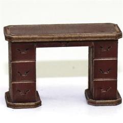 Office Desk - Medium Wood