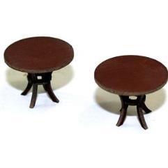 Round Tables - Medium Wood