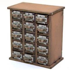 Filing Cabinet A-O - Light Wood