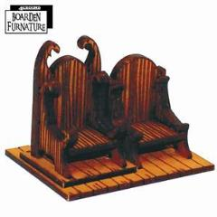 Boarden Royal Throne - Light Wood