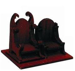 Boarden Royal Throne - Medium Wood (Pre-Painted)