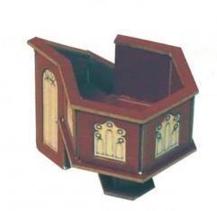 Church Pulpit - Medium Wood