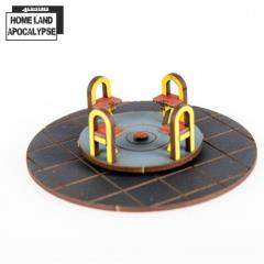 Play Park - Roundabout (Pre-Painted)