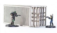 Shipping Container - White (Pre-Painted)