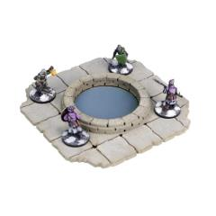 Frozen City Ruins - Round Pit/Well (Pre-Painted)