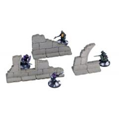 Frozen City Ruins - Wall Fragments (Pre-Painted)