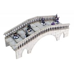 Frozen City Ruins - Ice River Bridge (Pre-Painted)