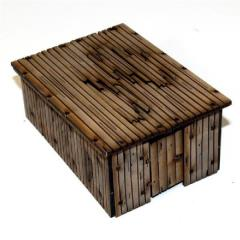 Wooden Outhouse/Storage Shed - Damageable (Pre-Painted)