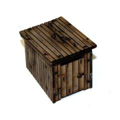 Wooden Outhouse - Damageable (Pre-Painted)
