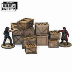 Shipping Crates and Freight Boxes (Pre-Painted)