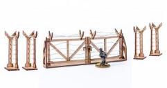 Corner Barbed Wire Fences