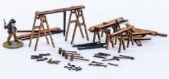 19th-20th Century Carpenters Equipment (Pre-Painted)