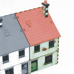 Right Side Semi-House - Type #1 (Pre-Painted)