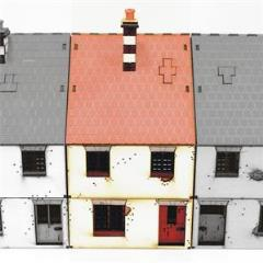 Mid Terrace-House - Type #1 (Pre-Painted)