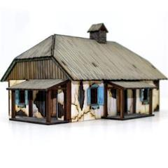 Ukranian Rural-House (Pre-Painted)