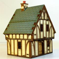 Tudor Timber Framed Cottage (Pre-Painted)