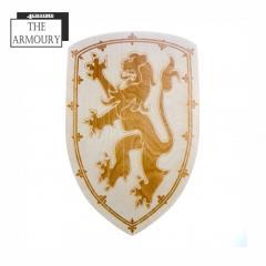 Scottish Lion Etched Shield