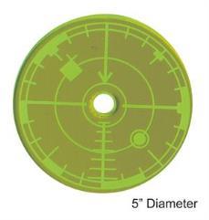 "5"" Blast Template - Green"