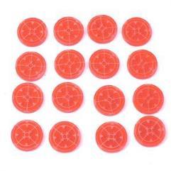 Token Set - Marker Light/Lock On, Red