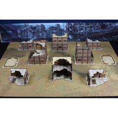 Desert Military Base Set (Pre-Painted)