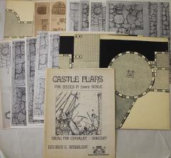 Castle Plans - For Sieges in 25mm Scale