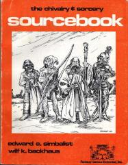 Sourcebook #1 (1st Edition, Thick, Orange Cover)