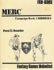 Campaign Book #1 - Rhodesia