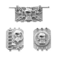 Imperial/Crimson Fists Land Raider Doors