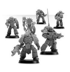 Iron Hands Legion Mk III Squad