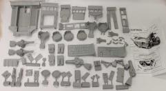 Ork Battlefortress Parts