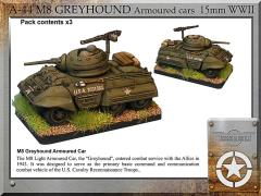 M8 Greyhound Armored Cars