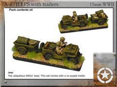 Jeeps w/Trailers