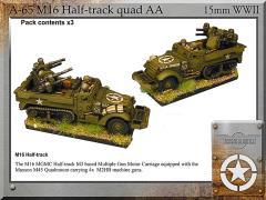 M16 Half-Track Quad AA