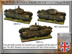 Churchill mkIII & IV w/mkV Option