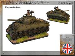M4A4 Sherman V 75mm