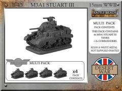 M3A1 Stuart III - Desert