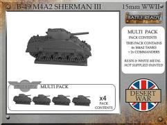M4A2 Sherman III - Desert