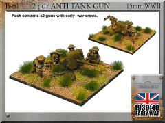 2pdr Anti-Tank Guns w/Crew