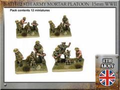 British Army Mortar Platoon